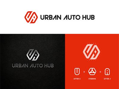 Automotive Detailing Studio Logo automotive car vehicle design art vector branding typography minimal logo illustration