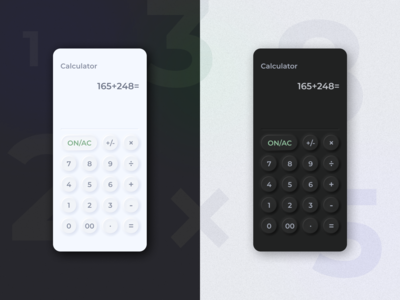 Calculator for DailyUI 004