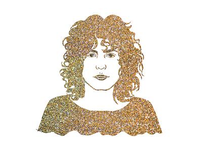 Marc Bolan Glitter Dandy