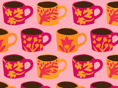 Flat mugs