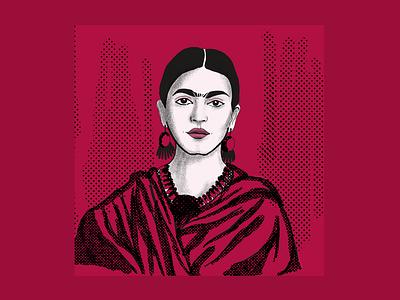 Creative Legends Portrait Series - Frida Kahlo