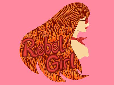 Rebel Girl illustration