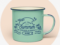 Enamel Mug FIT-Z //02