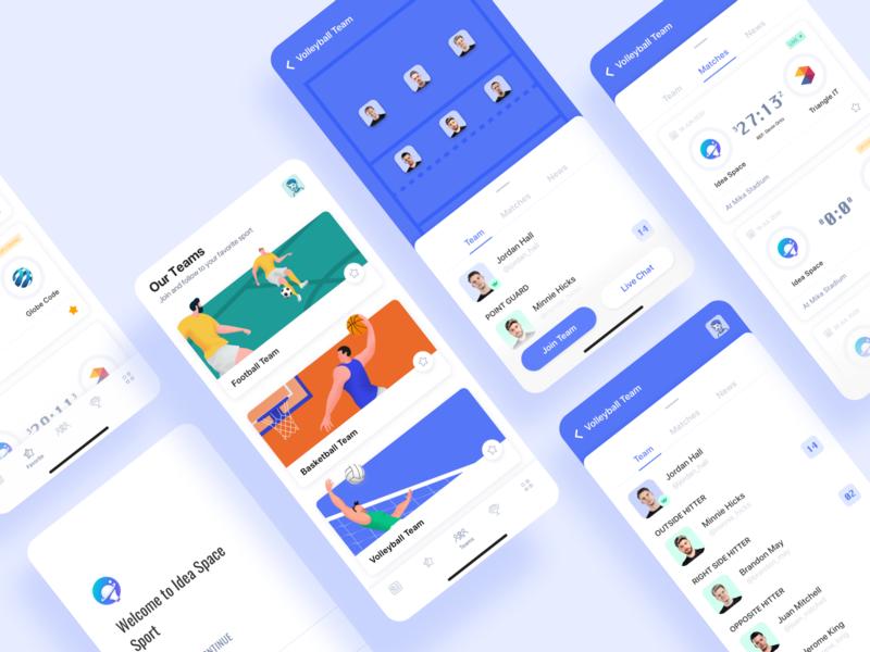 Idea Space : Sport App