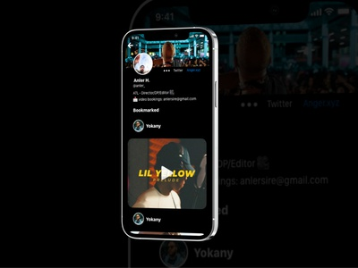Bookmarked Screen for a Video Content App mobile design mobile mobile app design ux ui available for hire open to work for hire ux designer ui designer product design product designer uxuidesign uiux design ux design app design ui design