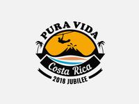 Pura Vida Costa Rica Logo