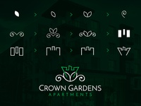 Crown Gardens Apartments (Brand Identity)