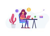Just a freelancer girl