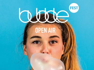 Bubblefest Open Air / Branding and Website