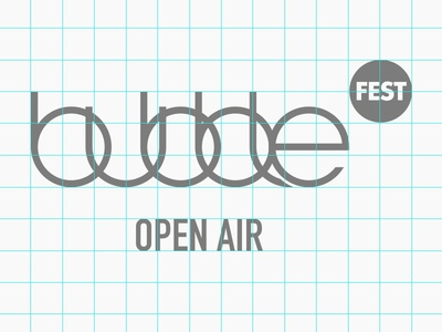 Bubblefest Berlin Open Air / Branding