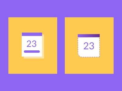 Calendar icon for HolaBrief art direction ui design process concept website process minimal clean web icon flat vector illustration branding design calendar design calendar icon calendar