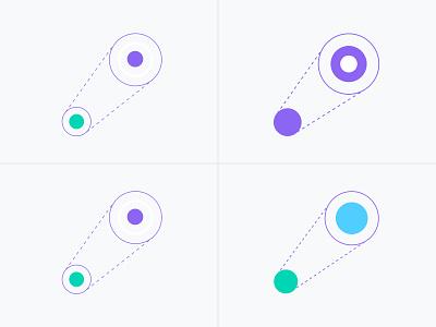 HolaBrief illustrations design process process minimal clean icon flat vector illustration logo design branding