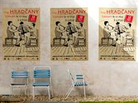 Montage affiche Hradcany