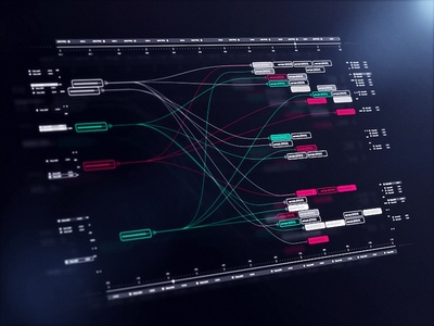 HUD Nodes interface sci-fi hud ui fui connection node after effects