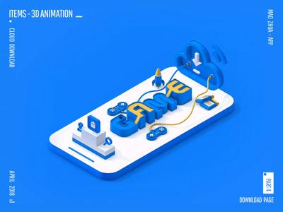 MAO ZHUA - APP 3D ANIMATION