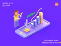 MAO ZHUA - APP 3D