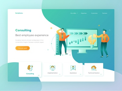 NeoSpheres consulting page