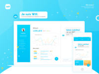 Iwill web/mobile interface
