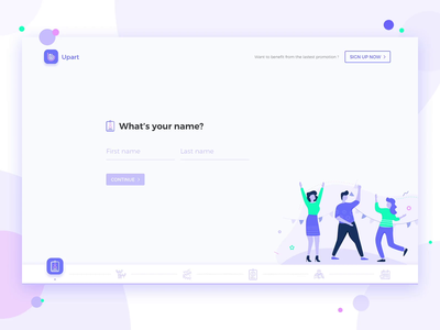 Upart Form Process Animation