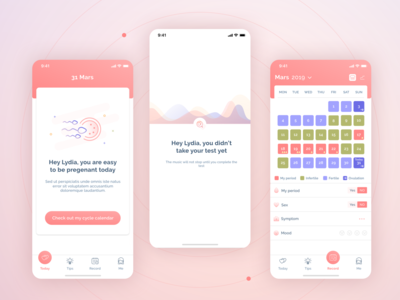 Natural Contraception App