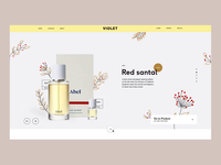 Violet. Home page template for CS-Cart
