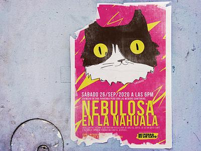 Nebulosa Sep/2020 ilustracion print art poster visionudo
