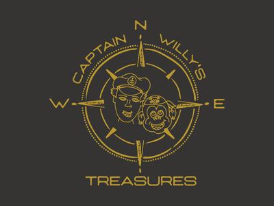 Captain Willy's Treasures Logo