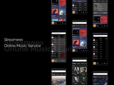 Online Music  Stream Service