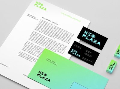 Neo Plaza / stationery