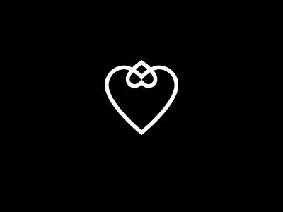 love, love, love разработка логотипа geometric branding identity logo hearts heart love family