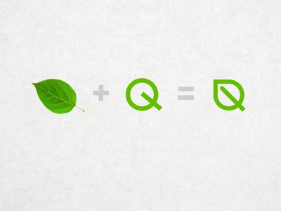 PAQQ - Logotype logotype визуальная идентификация branding identity logo разработка логотипа leaf logo eco ecology