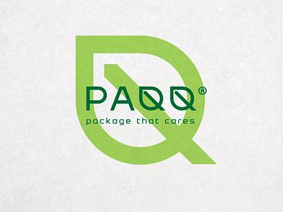 PAQQ - Logotype paper bag eco-friendly eco pack branding визуальная идентификация design logo leaf leaf logo ecology eco identity
