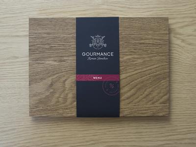 Gourmance menu