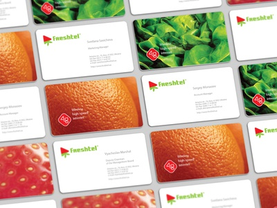 Freshtel / business cards