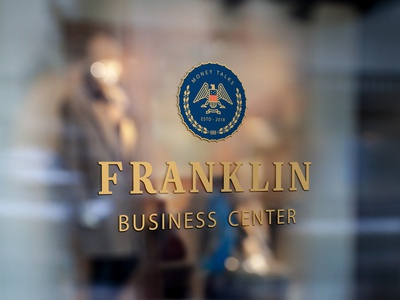 Franklin Business Center / Window signage