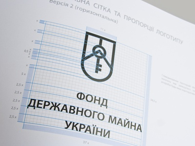 State Property Fund of Ukraine / Brand book