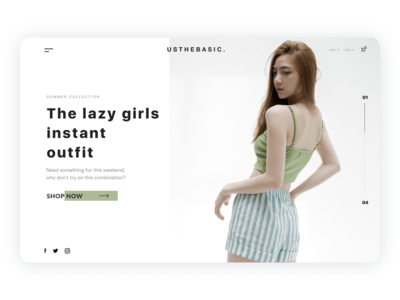 Fashion Product Page
