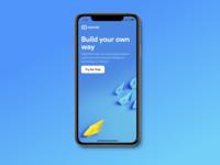 Mobile App Concept - O2O.HUB