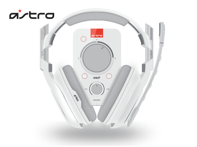Astro a40TR Headset astrogaming realism product design esports gaming illustrator