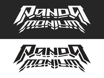 Pandamonium electronicmusic typeography type hardstyle panda