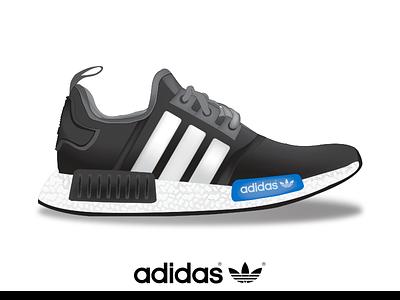 Adidas NMD R1 concept adidas gradient mesh nmd hypebeast shoe