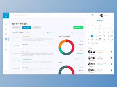 Task manager dashboard