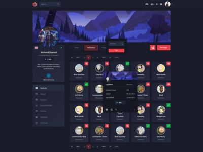 Ember social platform - Followers