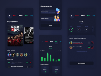 BingeWatch - Streaming platforms mobile app