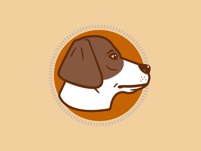 Sabzi Logomark illustration branding design branding dog icon logomark logo