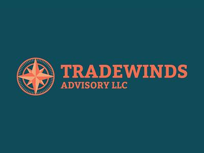 Tradewinds mark trading trade logo compass branding