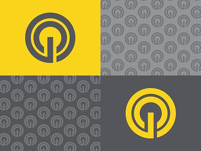 GC Power Mark thick thick lines brand branding logomark mark logo power c g