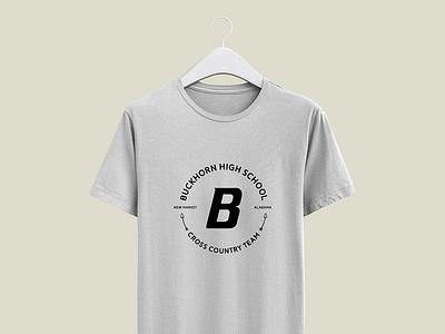 Buckhorn Cross Country Team sticker school logo tshirts tshirt logo running cross country school
