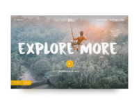 Daily UI 005 - Travel Landing Page