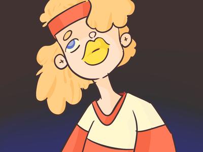 Retro girl